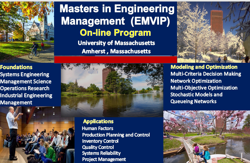 Online Master of Science in Engineering Management | UMass Amherst